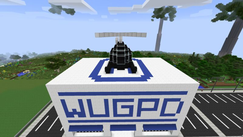 WUG PD Helicopter