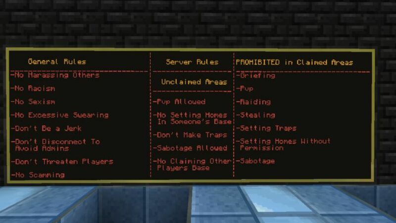 Server Rules