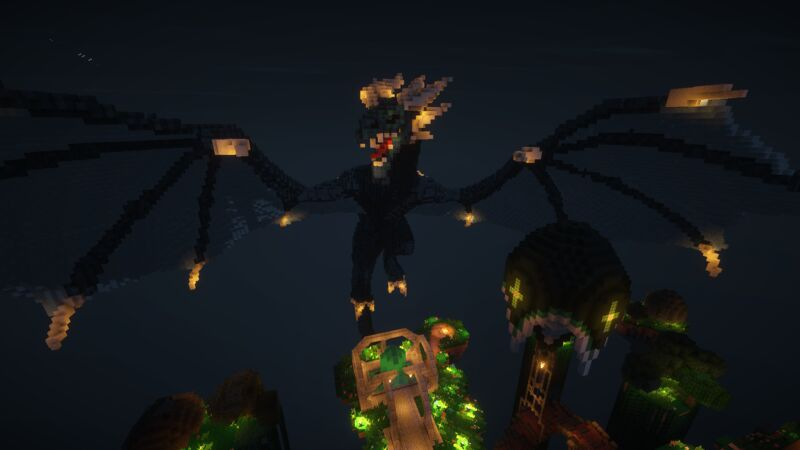 Dragon @ Spawn - Night