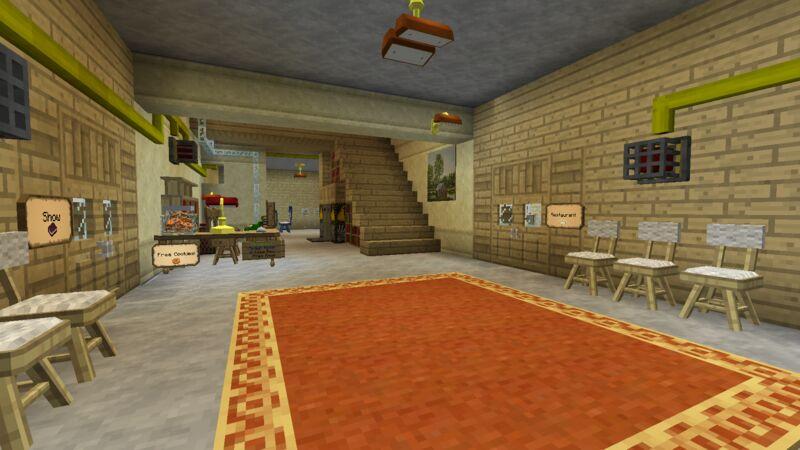 Hotel/Spawn hall