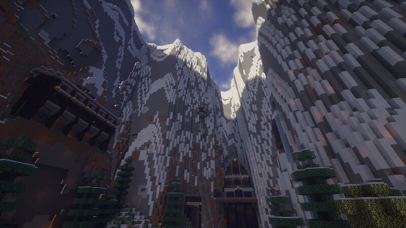 Spawn inside the Alps Biome!